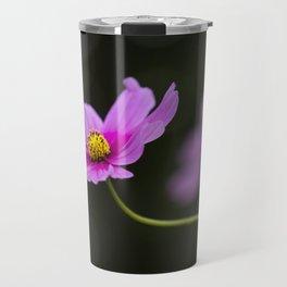 pink Cosmea summer flower Travel Mug