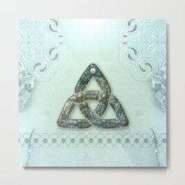 Th elegant celtic knot Metal Print