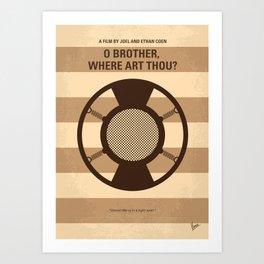 No055 My O Brother Where Art Thou MMP Art Print