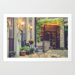 Home Style | Netherlands Architecture #1 | Street Photography Art Print