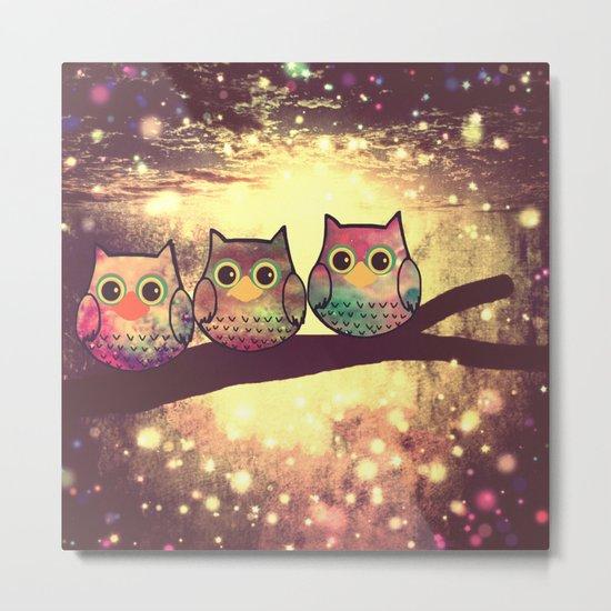 owl-246 Metal Print