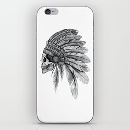 Indian Chief Skull iPhone Skin