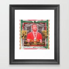 Gamelan Into The Meek Supernatural Framed Art Print