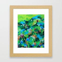 Mystery Celebration Framed Art Print