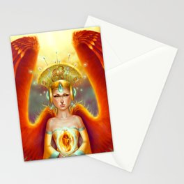 Phoenix Queen Stationery Cards