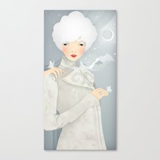 The Wings of the Dove Canvas Print
