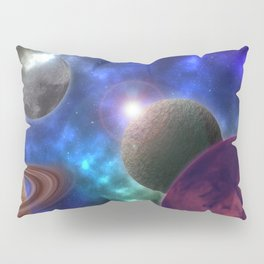 Space Expedition Pillow Sham
