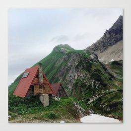 Alpine Pit Stop Canvas Print