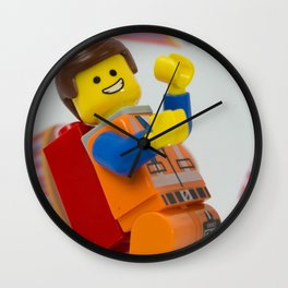 Emmeting is awesome Wall Clock