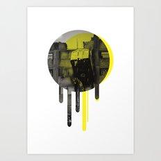 Glastonbury Festival - Bloc 9! Art Print