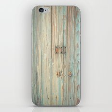 Vintage Bead Board Panels with Chippy Paint iPhone & iPod Skin