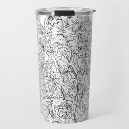 Begonias & Mums Travel Mug