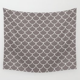 Warm Gray Scales Wall Tapestry