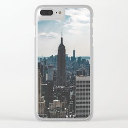 NEW YORK - CITY MANHATTAN - EMPIRE STATE BUILDING - PHOTOGRAPHY Clear iPhone Case