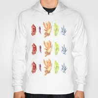 crystals Hoodies featuring crystals by impalei