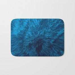 Bold Burst in Blue Bath Mat