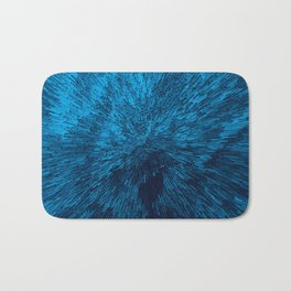 Bold Burst in Blue Bath Mat