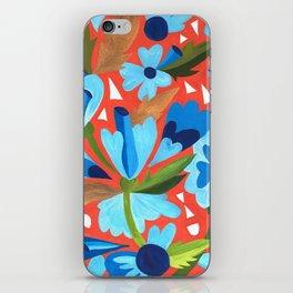 Floral Folk  iPhone Skin