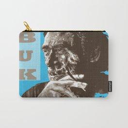 Charles BUKowski - POP-ART - sepia blue Carry-All Pouch