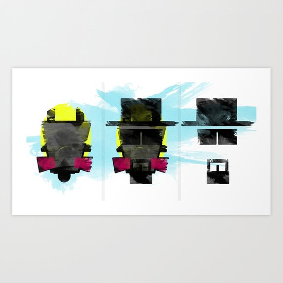Breaking Bad - Chemistry Art Print