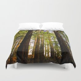 Within The Redwoods Duvet Cover
