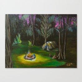 Just Camping Canvas Print