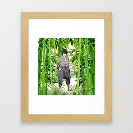 Hero anime 01 Framed Art Print