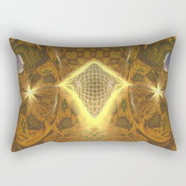 Space Honeycomb Rectangular Pillow
