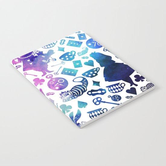 Alice in Wonderland - Galaxy W Notebook