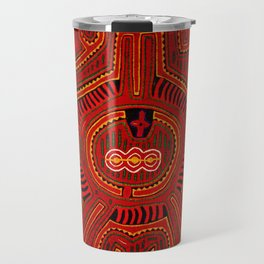 Kuna Indian Mola Travel Mug
