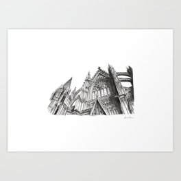 Duomo di Colonia Art Print