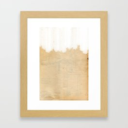 The Scope Framed Art Print