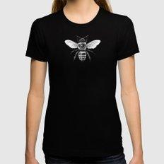 Bee Womens Fitted Tee Black MEDIUM