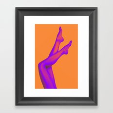 Legs Framed Art Print