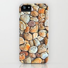 Neutrals with a Splash of Color iPhone Case