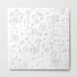 Third Dimensional Pattern Metal Print