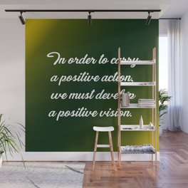 Positive Action Wall Mural