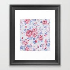 FLOWER PATTERN9 Framed Art Print