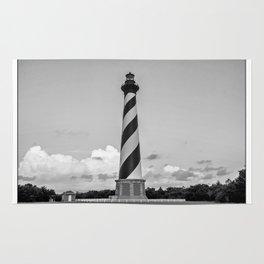 Cape Hatteras Light - Outer Banks - North Carolina.  Rug