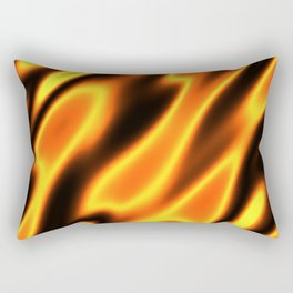 Element Fire Flame Hot Rectangular Pillow