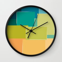 Take Note Wall Clock