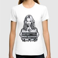 kate moss T-shirts featuring Kate Moss by Merlin Dobaryan