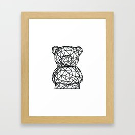 """Bru"" the Bear Framed Art Print"