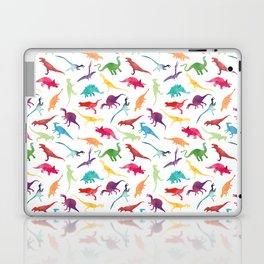 Watercolour Dinosaurs Laptop & iPad Skin