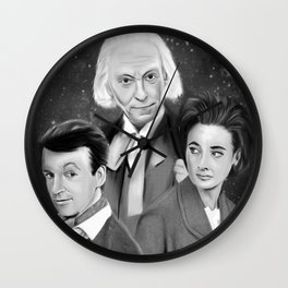 Classic Who Wall Clock