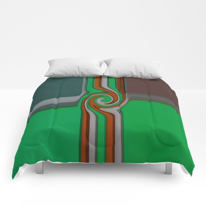 The knot hole Comforters