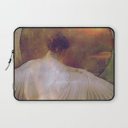 Behind the mirror Laptop Sleeve