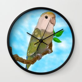 Skittles the Love Bird Wall Clock