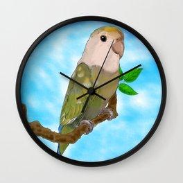 Skittles the Love Bird Wall Clock