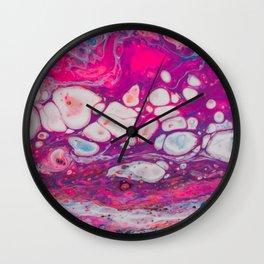 Lifeline Acrylic Pour 3785 Wall Clock